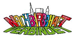 """Logo """"Nachbarschaft verbindet"""""""
